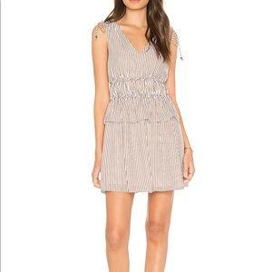 Line + Dot Striped Mini Dress